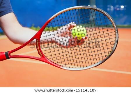Roland Garros concept - stock photo