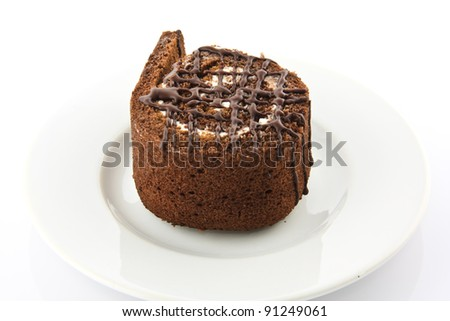 roll chocolate cake