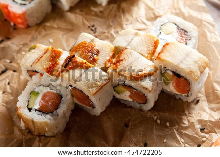 Smoked Eel Stock Photos Royalty Free Images Vectors