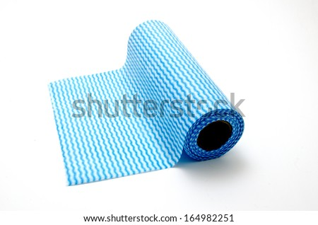 roll of cleaning cloths