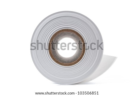 Roll paper - stock photo
