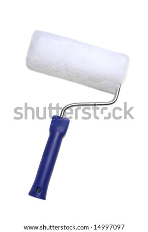 Roller isolated on a white background