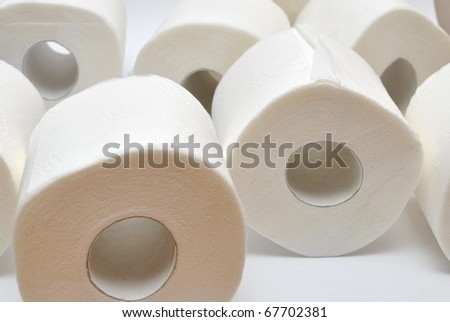 Roll toilet paper stock photo 150305777 shutterstock - Lavish white and grey kitchen for hygienic and bright view ...