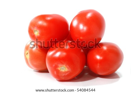 Roma tomatoes - stock photo