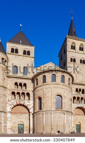 Roman Cathedral of Saint Peter, the oldest cathedral in Germany, Trier