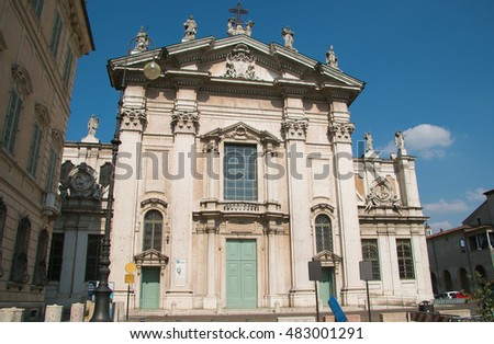 Roman Catholic cathedral dedicated to Saint Peter. Mantua