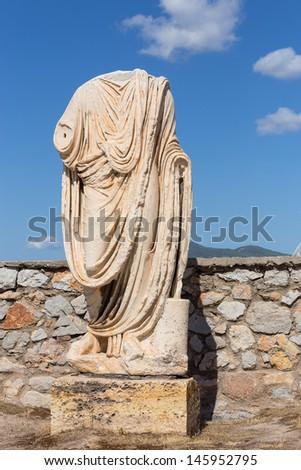 Roman Stola Statue