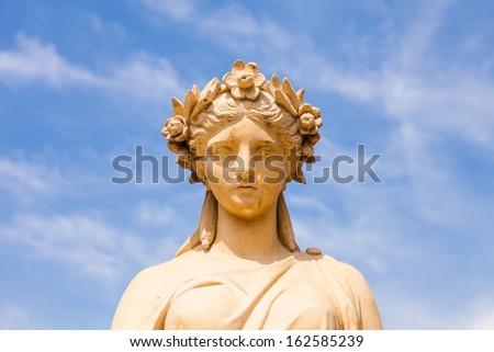 Roman style Statue at Bang Pa-In Palace - stock photo