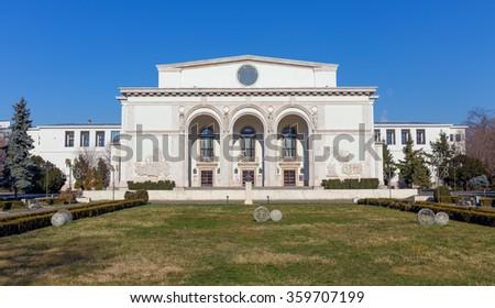 Romanian National Opera, Bucharest - stock photo