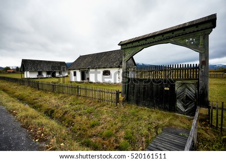 Medieval peasant stock images royalty free images vectors shutterstock - Romanian peasant houses ...