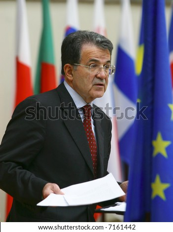 Romano Prodi - President of the Council of Ministers (Prime Minister) of Italy