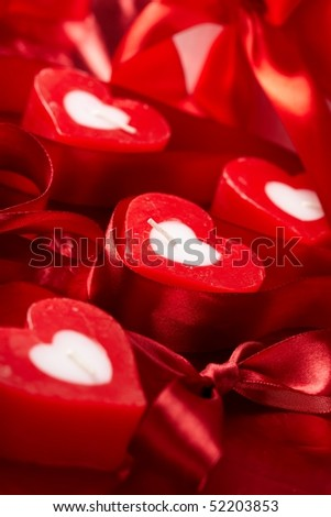 Romantic  candles with gift