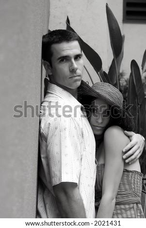 Romantic couple - stock photo