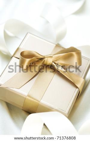 Romantic Gift - stock photo