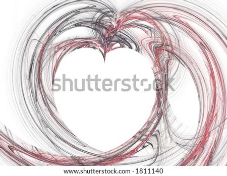 Romantic Heart - stock photo