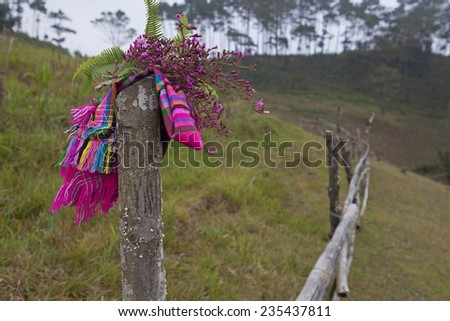 Romantic highland - stock photo