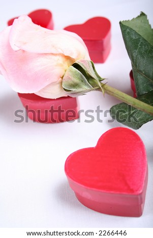 Romantic Items for use in Valentines or Love Related Designs