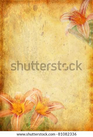 Romantic letter series - stock photo