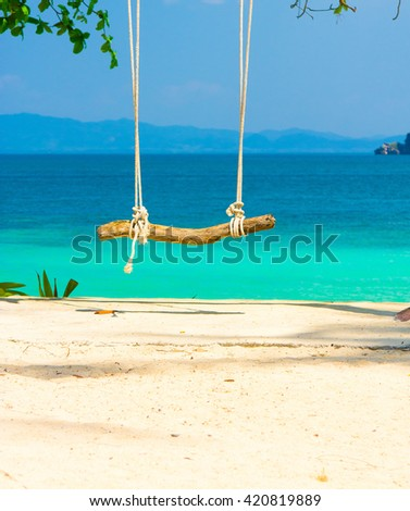 Romantic Place Serene Contemplation  - stock photo