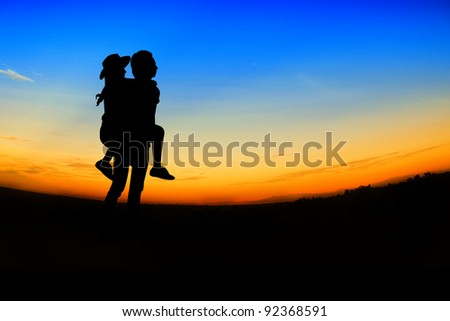 romantic Scene of love,valentine's day