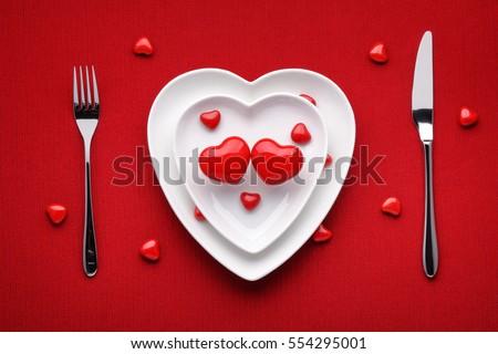 lập bảng lãng mạn cho Valentine