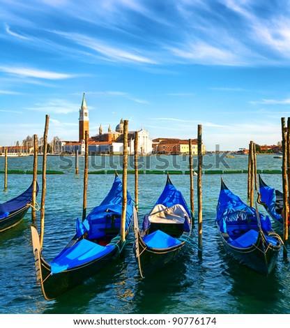 Romantic Venice - stock photo