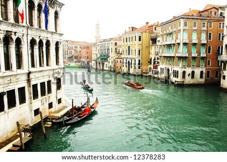 Romantic Venice, Italy - stock photo
