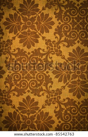 Romantic vintage  background - stock photo