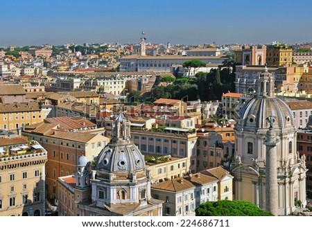 Rome city, Italy - stock photo