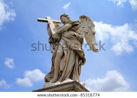 Rome monument - angel statue