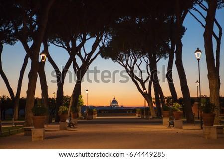 Aventino stock images royalty free images vectors shutterstock - Giardino degli aranci frattamaggiore ...