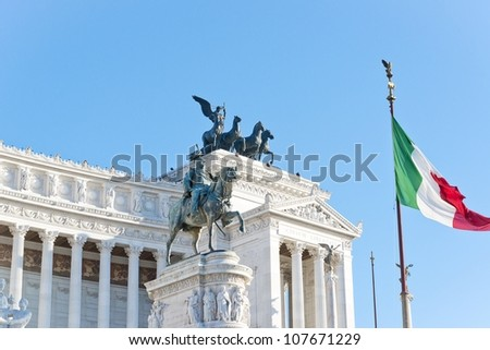 Rome, the altar of the homeland