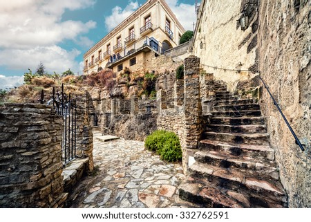 Ronda. Province of Malaga, Andalusia, Spain - stock photo