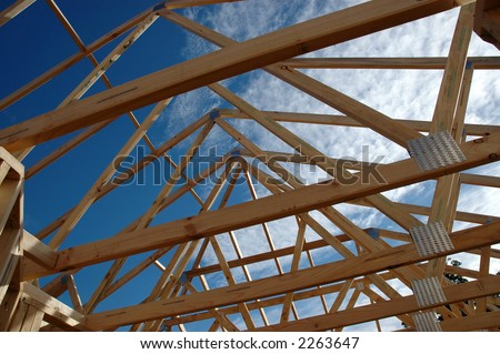 roof frame rafters
