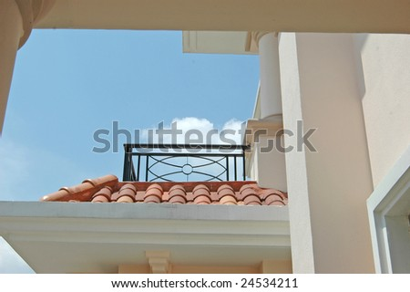 roof of apartment