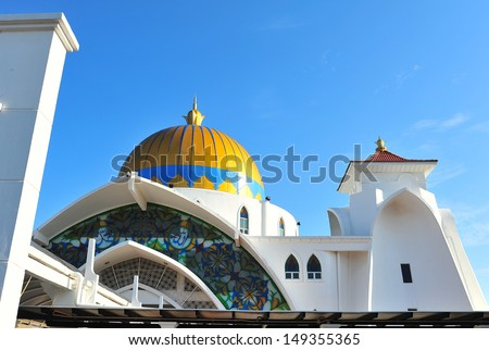 Roof of Islamic Mosque  - stock photo