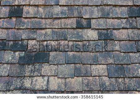 Roof Pattern Texture Background