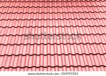 Roof tile backgrounds - stock photo