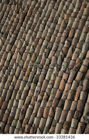 Roof Tiles - stock photo