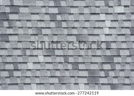 Roof tiles background. - stock photo