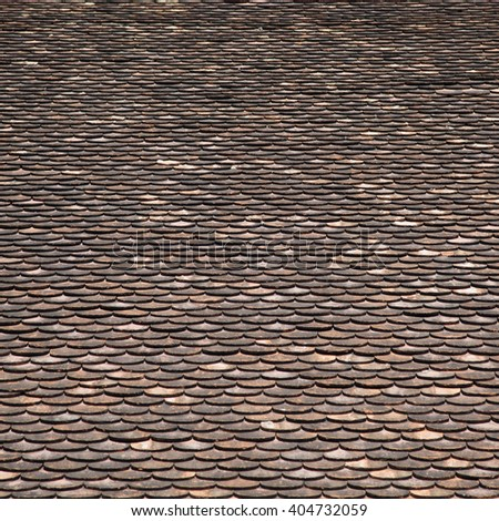 Roof tiles pattern   - stock photo
