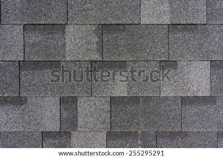 Roof tiles texture - stock photo