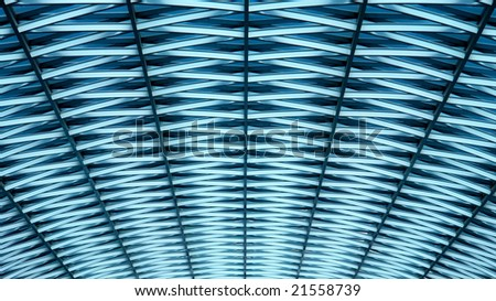 Roof top graphic pattern - stock photo