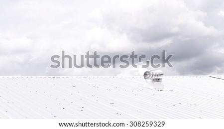 Roof Ventilator - stock photo
