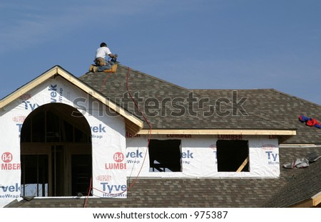 roofing - stock photo
