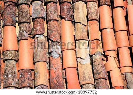Rooftops in Dubrovnik - stock photo