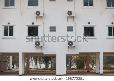 Room and Air - stock photo