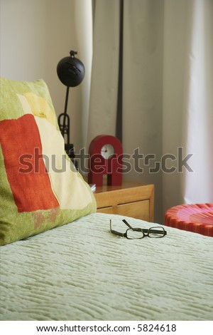 room detail in a modern apartment in Mexico - stock photo