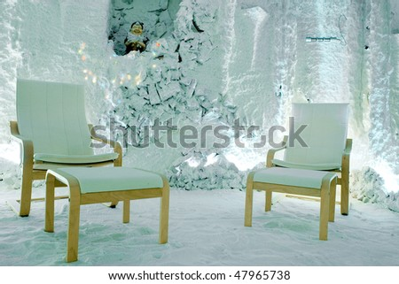 Room in ice