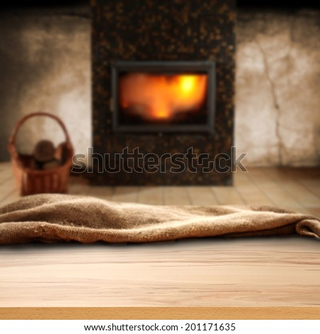 room of fireplace wall and floor